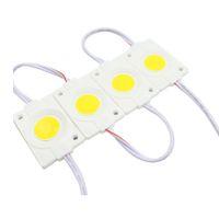 rotes modul großhandel-3W Einspritzung COB LED Module Licht DC12V Werbung Licht rot grün blau gelb warmweiß IP65 LED-Module wasserdicht