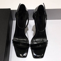 Wholesale Handmade Women Shoes - Women's Handmade Fashion Shoes Cut-out Slingback Open-toe Sexy Summer 11cm High Heel Party Prom Sandals size35-40