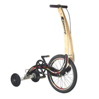 настольные скутеры оптовых-Fold 20 Inch Exercise Bike Stand Riding Fitness Tricycle Scooter