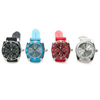 Wholesale Grinder Watches - New Style Wrist Watch Herb Grinder 2 Layer Parts Zinc Alloy Cigarette Tobacco Herb Crusher Metal GRINDER gift