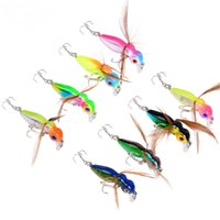worm fishing lures 2018 - 8-color 4.5cm 3.6g Bee Plastic Hard Baits & Lures Fishing Hooks 10# Hook Artificial Bait Pesca Fishing Tackle Accessories