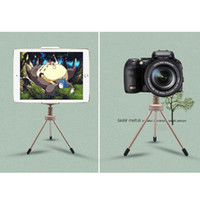 """Wholesale Tripod Stand For Ipad - Multifunction 1 4 """" Screw Flexible Tripod Mobile Phone mini Camera Tripods Travel Outdoor Metal Phones Hoders Stand for iPad"""