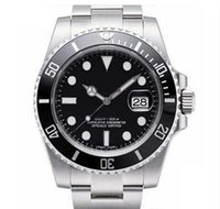 Wholesale mens black watches for sale - Luxury WATCHES Original Black Ceramic Bezel Dial Stainless Steel Automatic Mens Men s Watch brand Watches Man Wristwatch