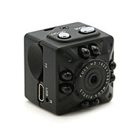 cámaras de grabación activadas por movimiento al por mayor-1080P HD Mini DV Pequeña cámara Mini cámara de video portátil con visión nocturna por infrarrojos Detección de movimiento Vigilancia de seguridad