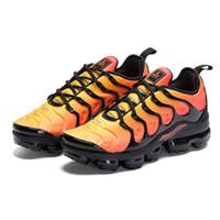 buy popular feba8 9f217 2019 TN Plus En Métallisé Olive Femmes Hommes Hommes Running Designer De  Luxe Chaussures Sneakers Marque formateurs formateurs chaussures