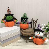 ingrosso bambole dell'hotel-Commercio all'ingrosso decorazione di Halloween bambola casa mercato dell'hotel creativo ornamenti di zucca in maschera rifornimento del partito prop nave libera