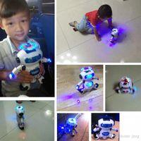 8 Designs Deformation Figure Robots Watch Electronic Deformation Watch Toy For Children Kids Party Favor