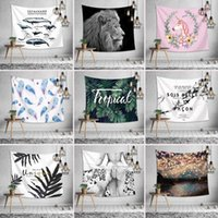 Wholesale nice shawls for sale - Group buy Nordic style wall tapestry style multifunction beach towel shawl printing tablecloth bed sheet nice home decoration party supplies