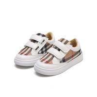 ingrosso fabbrica di maglieria del calzino-autunno nuova griglia piccole scarpe bianche ragazzi scarpe moda bordo studenti ragazze leggere scarpe casual