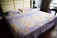 Wholesale king size bedding coverlet for sale - Washed Cotton Quilts Quilted Bedspread Bed Cover Sheets Pillowcase Coverlet Set Hanxiangyiren KING Size Quality Quilt Set Hot