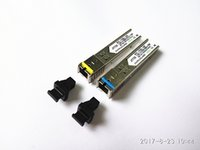 módulo de conector venda por atacado-Conector SC gigabit 5 km módulo DDM BIDI mini gbic sfp 1.25G módulo óptico tranceiver Otdr para mikrotik compatível