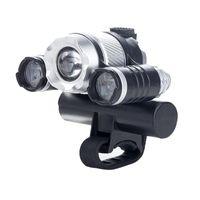 usb-aufladescheinwerfer großhandel-4 Modi USB Lade Fahrrad Frontscheinwerfer T6 Wiederaufladbare LED Scheinwerfer 380 Lumen Wasserdichte Outdoor Radfahren