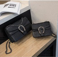 Wholesale new big cell phones resale online - New Arrival Fashion Women Totes Lady Shoulder Bags For Woman Handbags Vintage Chain PU Leather Small Big Cross Body Messenger Bag