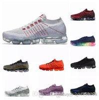 2018 New Vapormax Mens casual Shoes For Men Sneakers Women Fashion Athletic  Sport Shoe Hot Corss Hiking Jogging Walking Black Blue Red Shoes 82acf075d