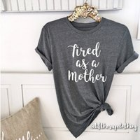 Wholesale boyfriend tee shirt - Tired as a Mother Boyfriend Style Tee Unisex Tee. XS- 3XL Cute Shirt Graphic Tee Motherhood . Mom Life . Pregnancy . Postpartum