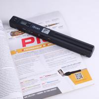 Wholesale 16 bit portable online - Portable scanner DPI JPG and PDF formate A4 book scanner Iscan mini handheld document scanner