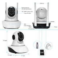 vigilancia remota de la cámara al por mayor-Cámara de seguridad 1080P WiFi IP Camera Support P2P Phone APP Control remoto Vista nocturna PTZ Baby Monitor Home surveillance