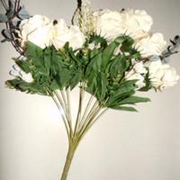 высушенные цветочные дисплеи оптовых-розовый цветок 1 Бутик Главная Декоративный искусственный пион Шелковые розы Цветы Белый Красный Синий Праздничный фестиваль Декор Дисплей Ветров Цветы