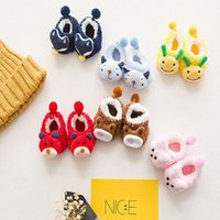 Wholesale gold cashmere for sale - Group buy Free DHL Fashion Children s Warm Socks Coral Cashmere Stereo Cartoon Soft Socks Winter Autumn Creative Cute Floor Socks Christmas Gift H860F