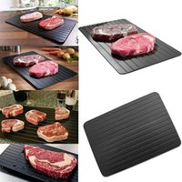 Wholesale Frozen Skin - Kitchen Defrost Meat Frozen Food Safety Tool Hot Fast Defrosting Tray Plate Thaw Frozen Food In Minutes convenient Quick Thawing Mat