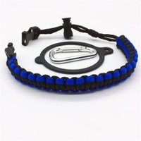 Wholesale classic cord - Creative Umbrella Cord Weave Bottle Lift Rope Portable Multi Function Belts Outdoor Hiking Seek Survival Tool Water Cup Belt 5ss Y
