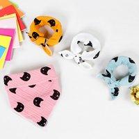 Wholesale dribble bibs wholesale - High quality cotton baby bibs Burp Cloths Fashion Animal Print baby bandana bibs dribble bibs Infant Saliva Cloth