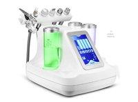 oksijen jeti soyma makineleri toptan satış-6 in 1 hydra yüz su dermabrazyon biyo kavitasyon rf soğuk çekiç oksijen yüz derin temizlik Oksijen jet Soyma makinesi