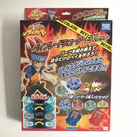 Wholesale arrive beyblade resale online - Hot Sale New Arrive Takara Beyblade Metal Fusion Master Fight Mini Stadium Launcher Top Kids Toy Xmas Birthday Gift
