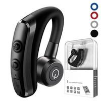Wholesale mic car for sale - K5 Handsfree Bluetooth Earphone Car Wireless Bluetooth Headsets Phone business Earphones Headphones With Mic Handsfree Cordless Earphones