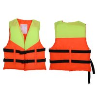 Wholesale swimming jackets for kids resale online - Durable Life Vest For Kid Swimming Boating Drifting Life Jacket Children Ski Buoyancy Aid Lifesaving Water Sports Safety Kit