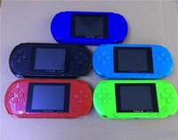 16 bit video oynatıcı toptan satış-PXP3 El Mini Video Oyun Konsolu 16 Bit PVP TV-Out Oyunları PXP Kart Istasyonu Için 16bit Oyun Oyunları Konsol Oyuncu Çocuklar Doğum Günü Hediyesi