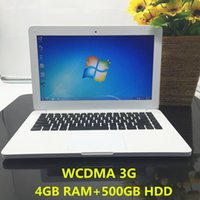 Wholesale tablet 3g hdmi for sale - 13 inch laptop windows7 G RAM DDR3 G HDD In tel J1900 Quad core PC Ultrabook WCDMA G tablet HDMI GHz computer