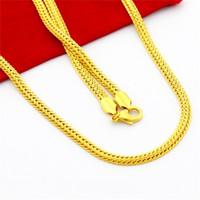 ingrosso spuntini gialli-Roman Reigns autentico placcato oro giallo 24 carati snack collana elegante per i monili di fascino della catena dell'hiphop del partito
