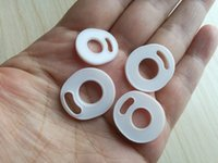 zerstäuber nur großhandel-NUR White Pad Silikon O-Ring Silikon Seal O-Ringe Ersatz Ours für TFV4 TFV8 TFV8 Baby X Große TFV12 Prince Atomizer DHL