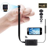 Wholesale motion cameras for home security online - Full HD P MP Ghz Wifi Mini DIY Module Button Camera Wireless Home Security Camcorder Motion Detection For iPhone Android Phone