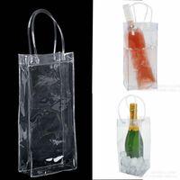 Wholesale iced bucket for sale - Group buy Bag Gift Wine Beer Champagne Bucket Drink Ice Bag Bottle Cooler Chiller Foldable Carrier Favor Gift Festival Bags