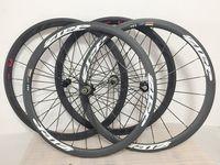 Wholesale 38mm carbon clincher wheels - Zipp 303 38mm Clincher Wheels Carbon Firecrest Wheelset Zipp 303 Wheelset 38mm 3K weave Carbon Cycling Wheels
