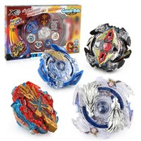 Wholesale metal fight beyblade toys online - 4pcs set Beyblade Stage Metal Fight Bayblade Metal D Fusion With Launcher Handle Spinning Top Toys Gifts For Kids E