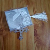 Wholesale bookmark designs resale online - Fashion Special Design wedding decoration Cross Bookmark Students Gift school office supplies