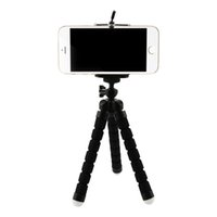 Smart phone holder tripod stand for dslr - A tripod Flexible Octopus Tripod For Phone With Phone Clip Tripod for iPhone s s Dslr Gopro Yi K SJCAM Camera Stand Mount