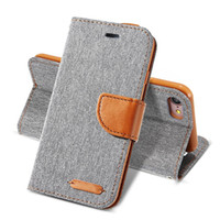 iphone 5s lüks flip durumlarda toptan satış-Lüks cüzdan flip case için iphone 6 6 s artı 7 5 5 s se case x 8 kart deri tutucu telefon kapak için iphone 7 6 5 s x 10 8