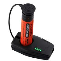 monociclo de dos ruedas al por mayor-Folomov DC 5V Tamaño de la llave portátil Cargador de batería USB magnético para viajar Ligero 2000mA EDC Cargador USB magnético Envío Gratis XB