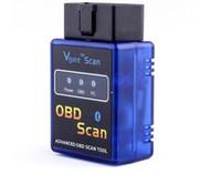 scannen obd peugeot großhandel-Original Vgate Mini ULME 327 Bluetooth V2.1 OBD Scan ELM327 Bluetooth Für PC PDA Mobile Elm327 BT