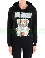 Wholesale fashion designer toys for sale - 2018 New Top Luxury brand men pin toys print Sportswear Hooded Designer Sweatshirts Mens Pullover Hoodies Male Casual Hoodie Sport Suit