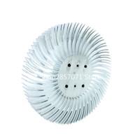 ingrosso tempi di luce gialli-Spedizione gratuita 90x10mm alluminio dissipatore di calore per 10W ad alta potenza COB LED Light Panel Bulb