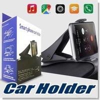 cradle entwürfe großhandel-Universal Car Mount Halter Simulieren Design Autotelefonhalter Cradle Einstellbare Dashboard Phone Mount für sicheres Fahren für iPhone 7 7 Plus