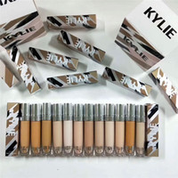 Wholesale Red Highlighter - Kylie Jenner 12 Colors Liquid Foundation Highlighter Makeup Skin Concealer Beauty Make Up Cosmetics High Quality