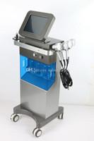 кислородный пилинг оптовых-Профессиональный Hydradermabrasion Hydro Dermabrasion Microdermabrasion Machine Water Oxygen Jet Peel с 7 цветами PDT LED Photon Light
