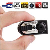 q5 lcd großhandel-Neue Q5 Mini-HD-Digitalkamera-Mode-im Freiensport-Kamera-gute Geschenke USB-TF-Karte 720P geben Verschiffen frei