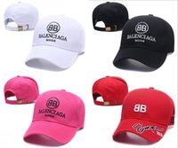 beyzbol boncuk şapkaları toptan satış-2018 kpop VETEMENTS Büyük Baba 18FW BNIB Beyaz Unisex Logo Beyzbol Şapkası Ayarlanabilir baba taktik beyzbol şapkası beanie kap casquette rahat kapaklar